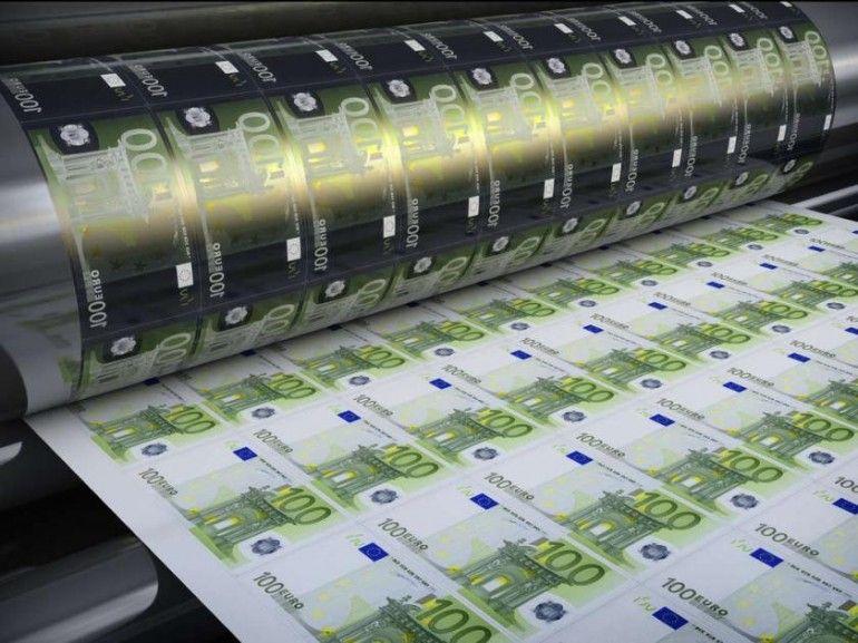 stampante denaro