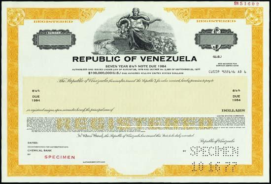 bond venezuela