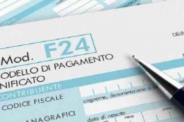 modello f24 codice 1001
