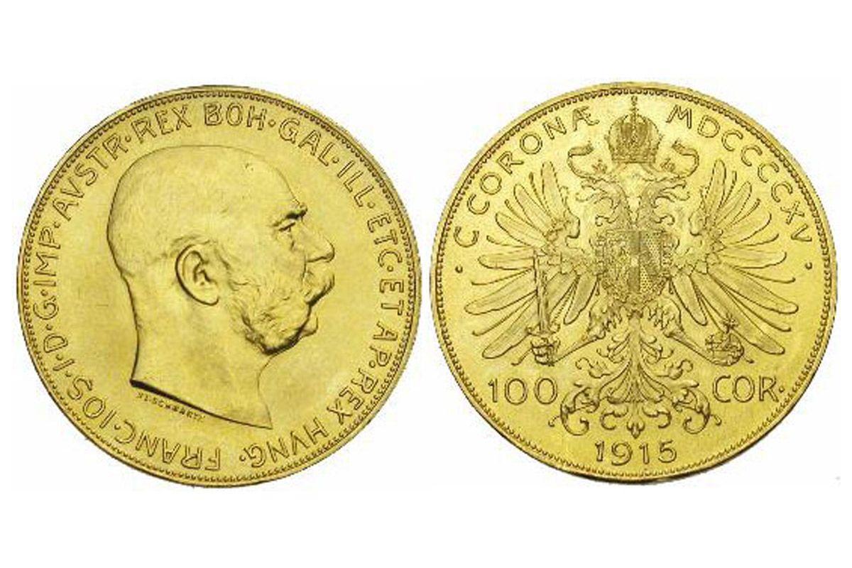 moneta oro austriaca