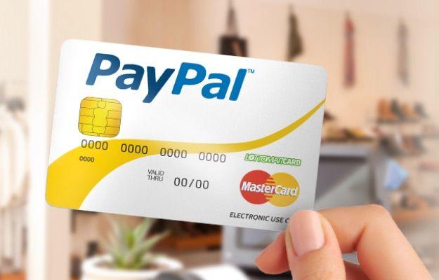 carta credito paypal