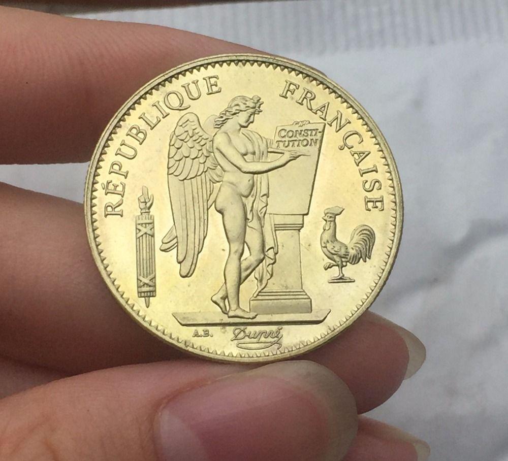 moneta oro francese