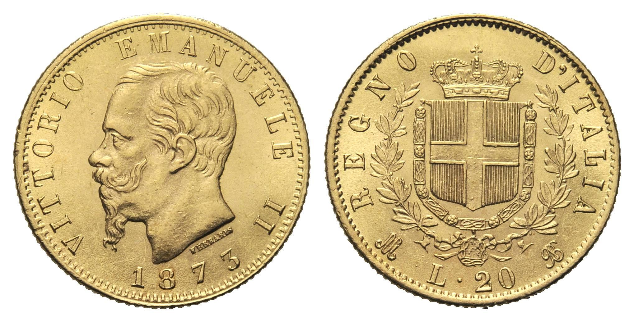 moneta oro italiana