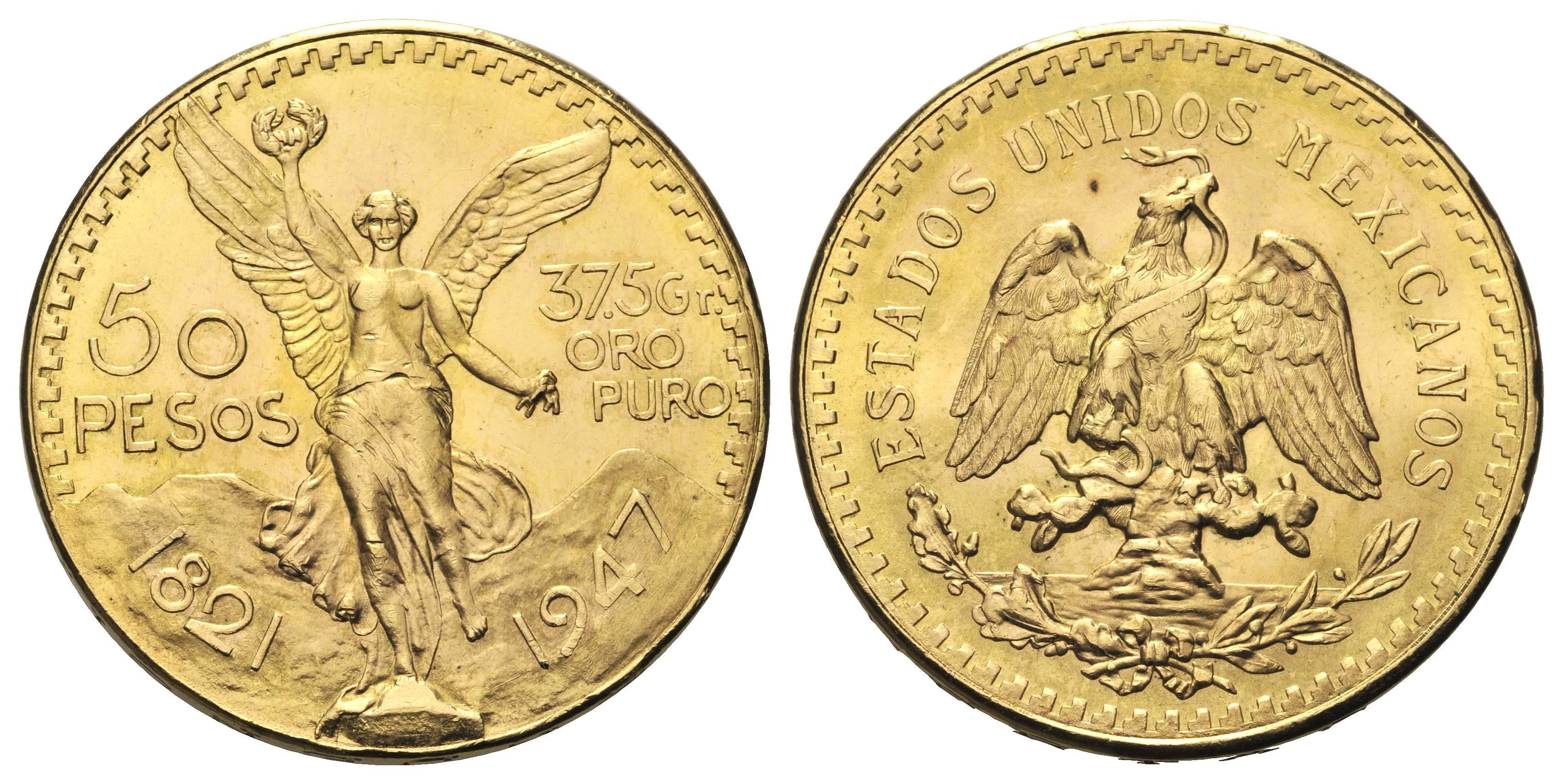 moneta oro messico