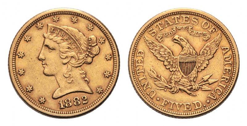 monete oro stati uniti