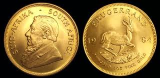 monete oro sudafrica