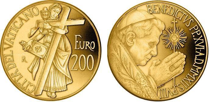 monete oro vaticano