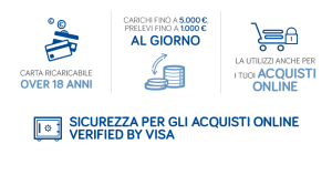 sicurezza postepay verified by visa