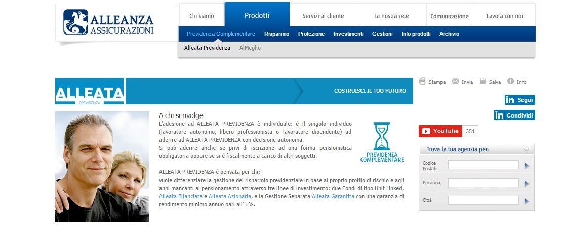 alleata-previdenza homepage