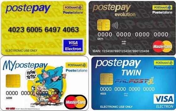 carta-postepay-versioni-disponibili