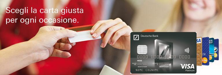 carte di credito db