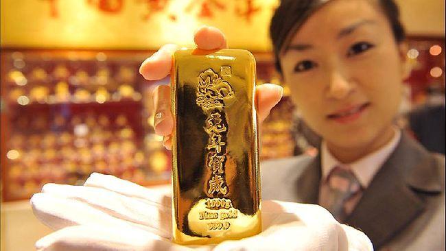 cina investe in oro