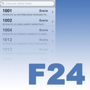codici tributo sull'f24 tfr