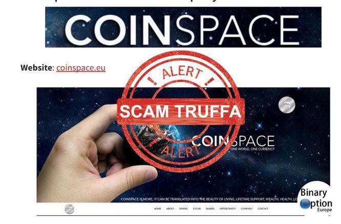 coinspace-italia-truffa-opinioni-recensione