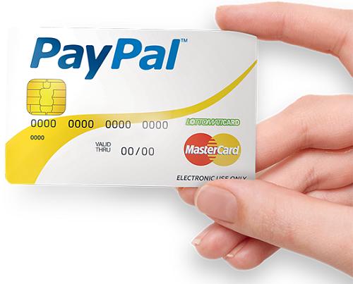 Carta-PayPal prepagata