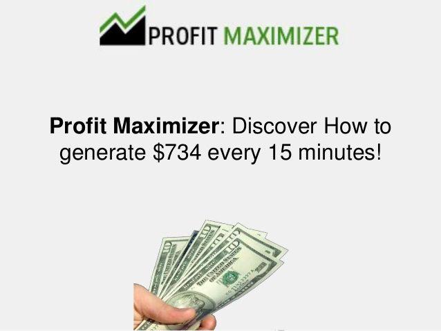 Profit-Maximizer-Truffa