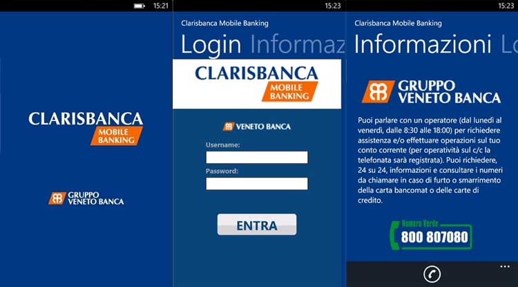 login Clarisbanca-Mobile-Banking