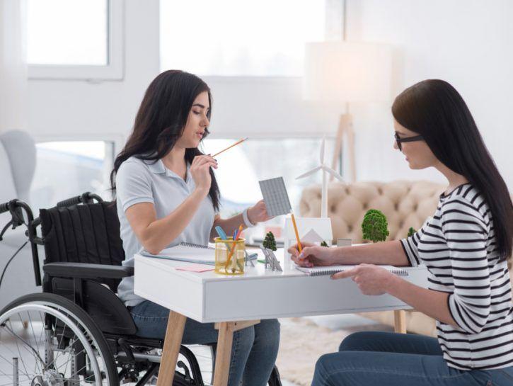 legge 104 disabile come funziona
