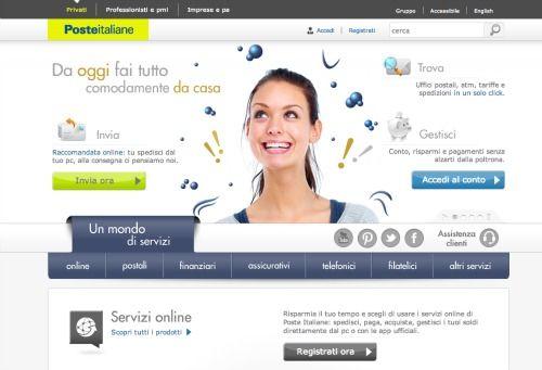 schermata servizi online